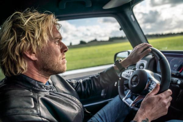 Felix Smith drives in Top Gear